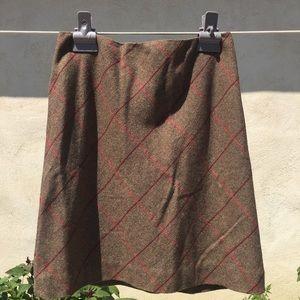 ANN TAYLOR LOFT wool skirt